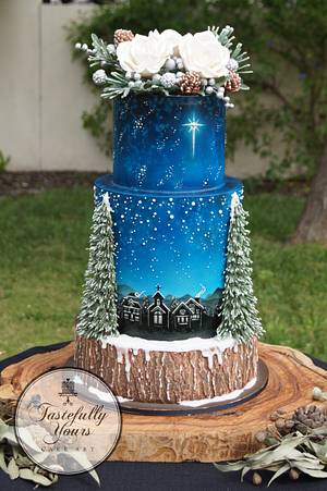 Winter Woodland - Cake by Marianne: Tastefully Yours Cake Art