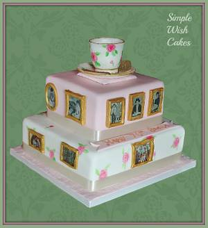 Memories - Cake by Stef and Carla (Simple Wish Cakes)