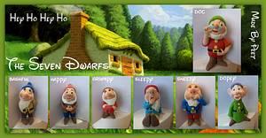 The Seven Dwarfs  - Cake by Petra