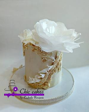 Vintage wedding cake - Cake by Radmila
