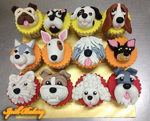 Doggie Cupcakes - Cake by William Tan