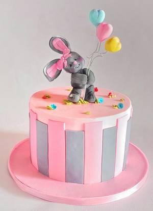 Easter Bunny cake - Cake by Savitha Alexander