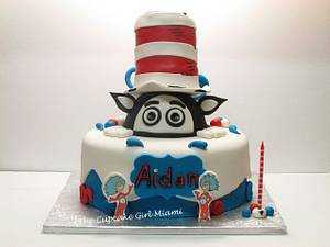 Cat in the hat cake - Cake by Lilly
