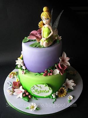 Tinkerbell cake - Cake by Maria Letizia Bruno