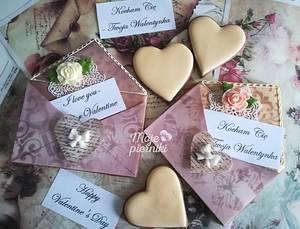 Message and love - Cake by Ewa Kiszowara