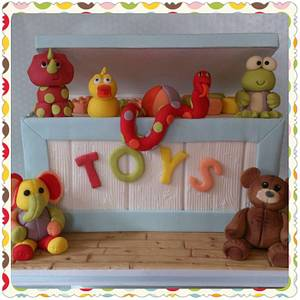 Toy Box - Cake by Laura Young