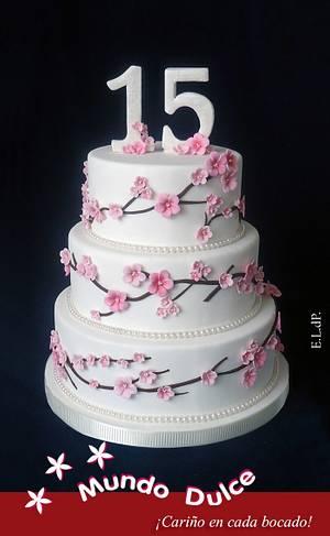 sweet 15´th - Cake by Elizabeth Lanas