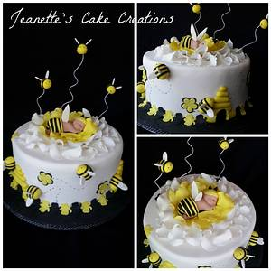 Baby Shower Cake - Cake by Jeanette's Cake Creations and Courses