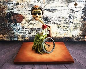 Crazy Grandma-Tickle My Bones - Cake by Urszula Landowska