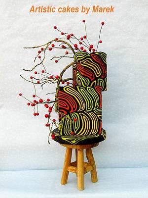 Autumn wedding cake - Cake by Marek