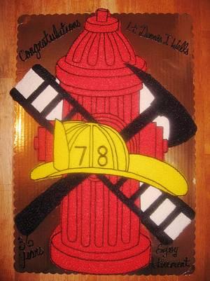 Fireman cake - Cake by Monica Seay