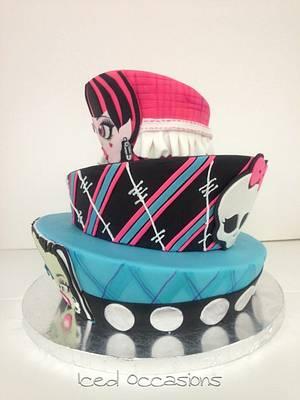 Monster High Birthday Cake - Cake by Morgan