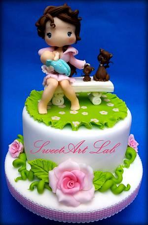 The greatest love of all - Cake by  Michela Barocci - Sugar Artist