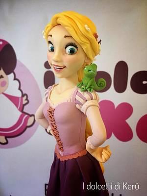 Rapunzel - Cake by i dolcetti di Kerù