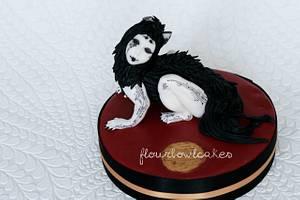 The Olde Curiosity Shop  - Cake by Flourbowl Cakes