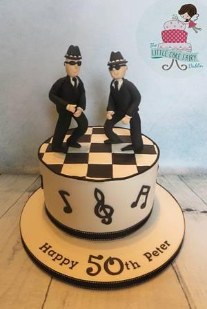 Ska/Blues Brothers Music - Cake by Little Cake Fairy Dublin