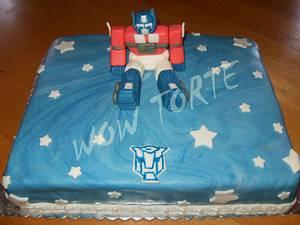 Optimus Prime - Cake by Ana