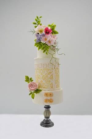 summer wedding cake - Cake by Catalina Anghel azúcar'arte