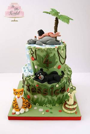 Jungle book cake - Cake by The Little Kendal Cakery
