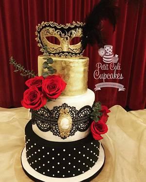 Masquerade A La Phantom - Cake by Petit cali