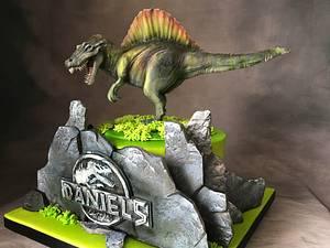 Jurassic Spinosaurus Cake - Cake by Nightwitch