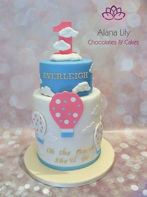 Oh the places she'll go... - Cake by Alana Lily Chocolates & Cakes