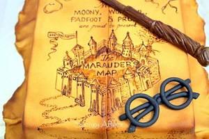 Marauder's map! - Cake by Meenakshi Jamadagni