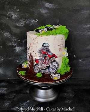 Motocross  - Cake by Mischell