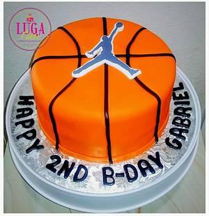 Basketball cake - Cake by Luga Cakes