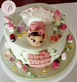 Fairy Garden Theme - Cake by Bakes by D