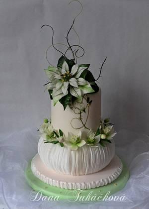 Svatební dort roku - Zima - Cake by Dana Tuháčková - Marzicake
