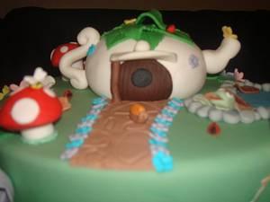 Fairy Garden cake - Cake by sliceofheaven