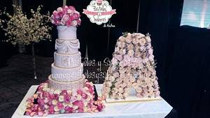 Flowers for 15 year-olde - Cake by Andrea Colavita
