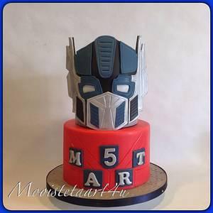 Optimus Prime... - Cake by Mooistetaart4u - Amanda Schreuder