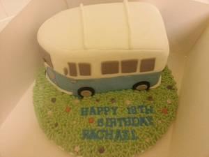 VW Camper Van - Cake by Stacey