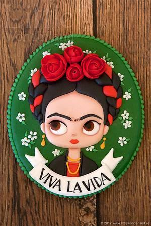 Frida Kahlo - Cake by Rocío Cuenca
