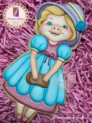Hamy the Pig 🐷  - Cake by Mariana Lopez Figueroa