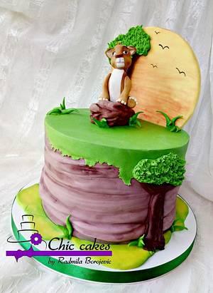 Lion King cake - Cake by Radmila