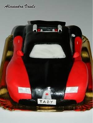 Bugatti Veyron cake - Cake by alexandravasile