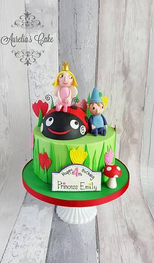 Ben and Holly cake. - Cake by Aurelia's Cake