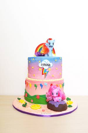 My Little Pony - Cake by Trésor Cakes & Confiseries