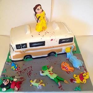 Disneys walking dead  - Cake by Marie