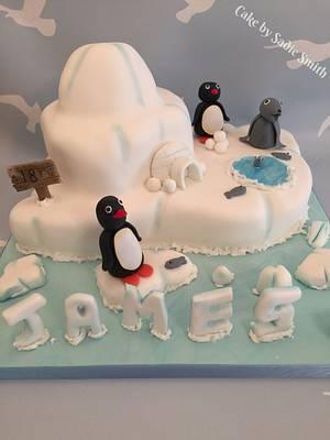 Pingu & Friends  - Cake by Sadie Smith