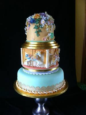 Carousel - Cake by cakebelly