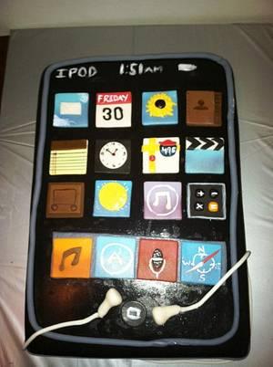 Ipod - Cake by Maureen