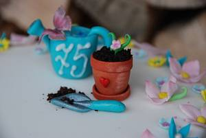 Small cake for passionate gardeners - Cake by Lucie