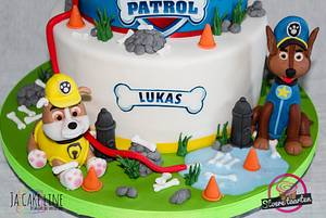 Lukas 3 years - Cake by Jacqueline
