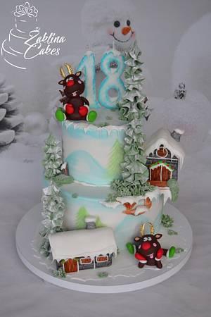 Happy Winter Cake - Cake by Zaklina