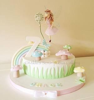 Dandelion Fairy - Cake by Mikki