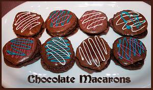 1st macarons - Cake by Christian1965